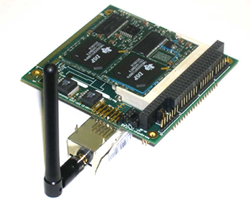 SigC67xx-PC/104 Board, Top View, with 802 ...