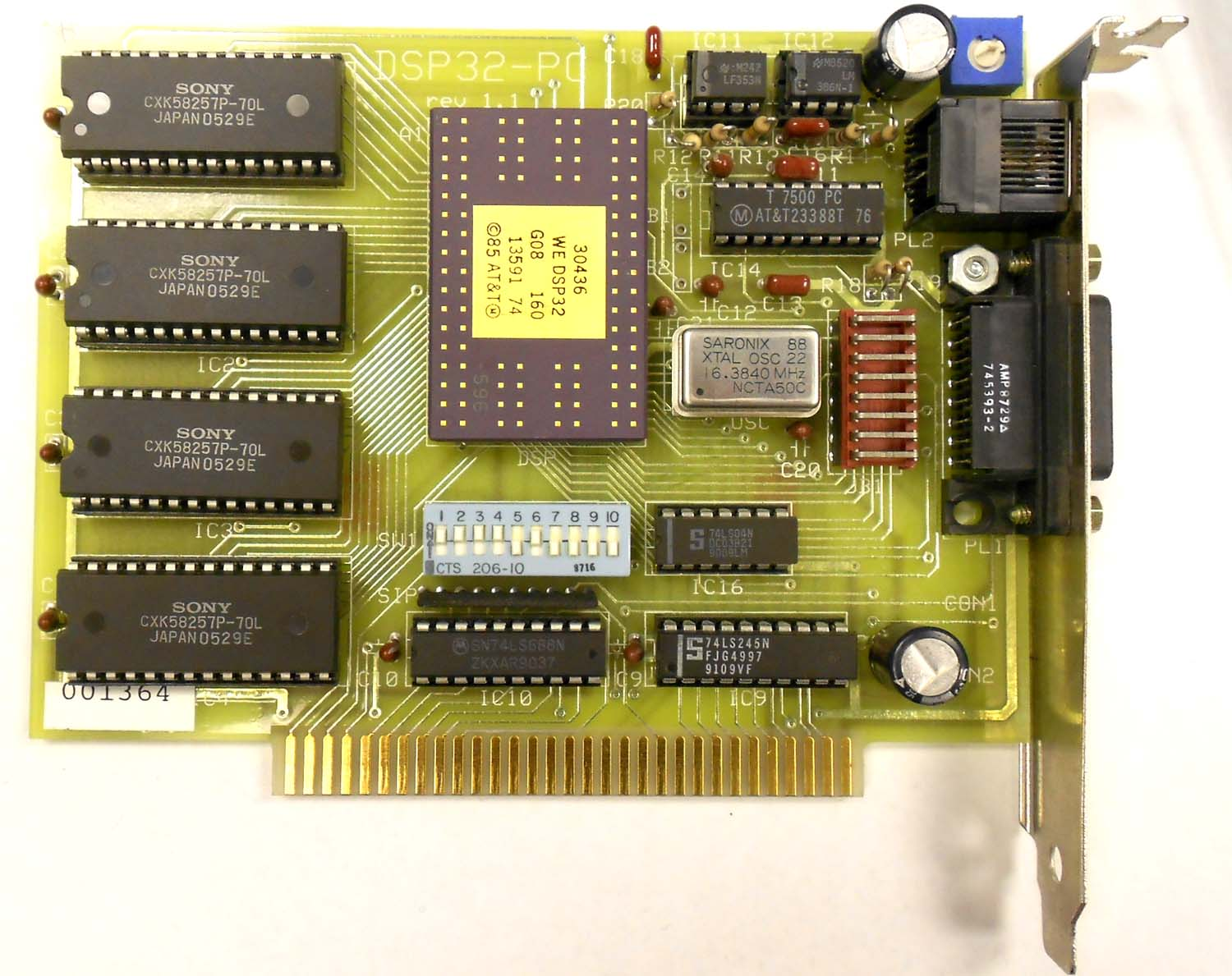 Legacy and Obsolete DSP and Data Acquisition Boards