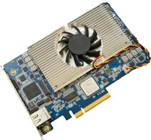Video Content Delivery PCIe Card