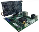 Embedded HPC and embedded deep learning small form-factor targets, including pico-ITX and mini-ITX format servers with x86 + c66x coCPU™ solution