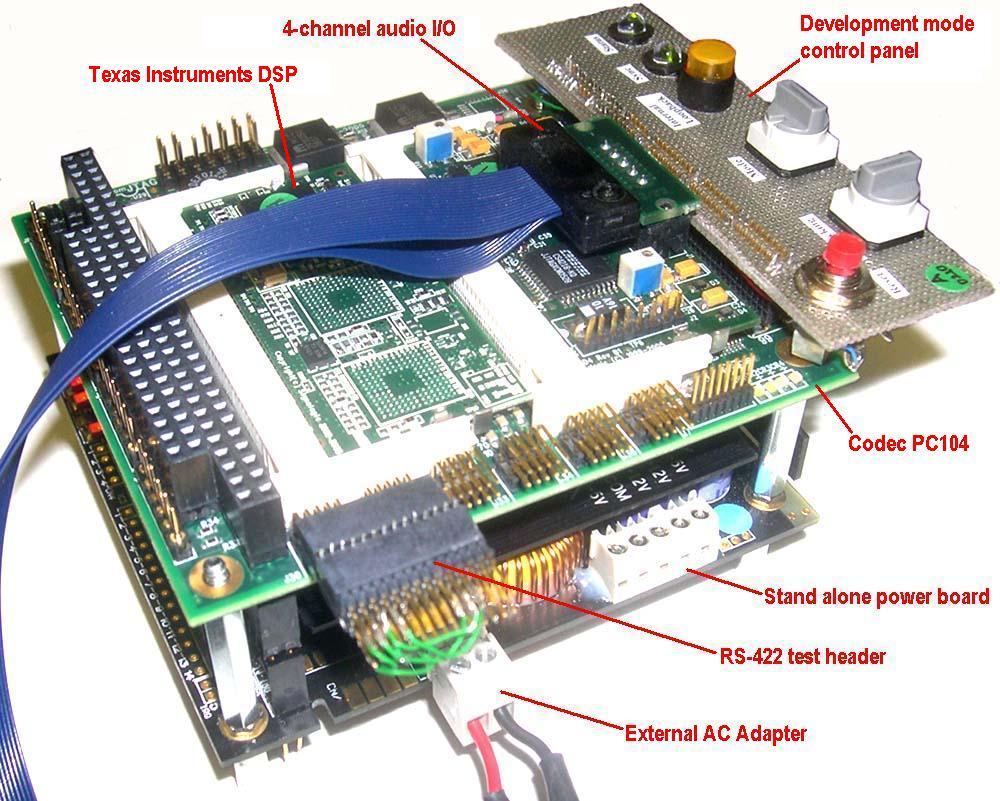 Stand Alone Codec-PC104 Demo/Development ...